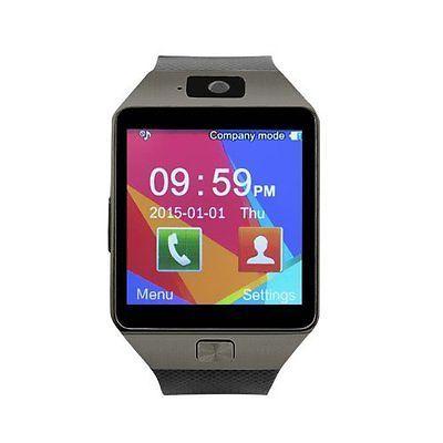 Relógio inteligente DZ09 bluetooth Phone Mate Câmera Gsm Slim Para Android Iphone Samsung