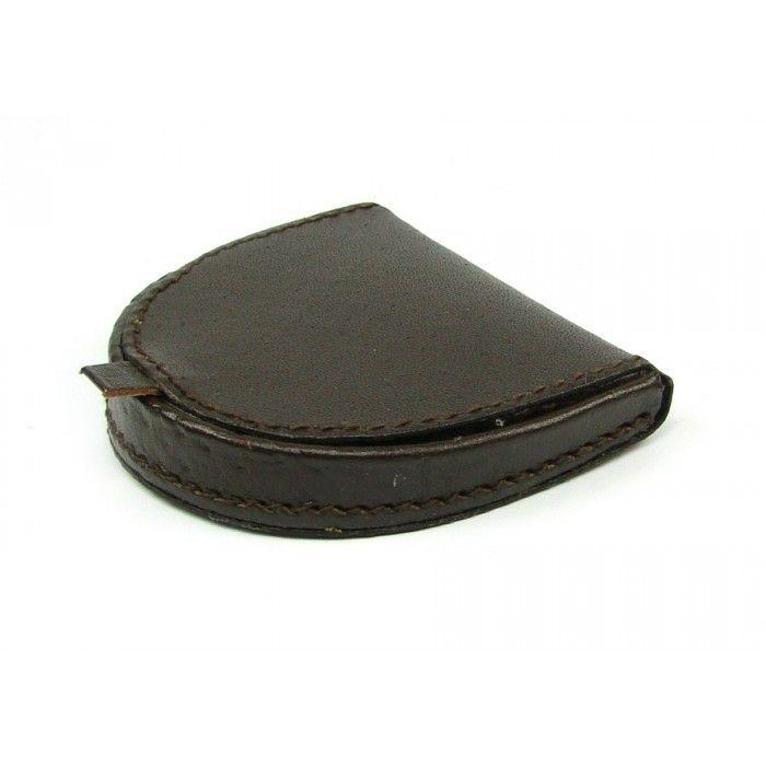 Kožený micovník hnědý - peněženky AHAL