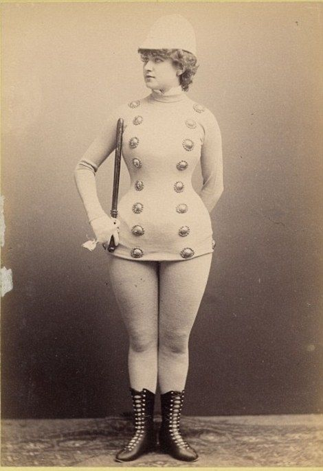 Sort of fascinating. Some of the corsets terrify me.