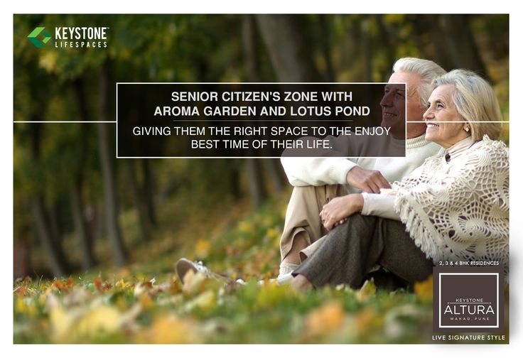 Keystone Altura - Live Signature Style. Senior Citizen's Zone With Aroma Garden And Lotus Pond - Giving Them The Right Space To Enjoy The Best Time Of Their Life. www.keystonelifespaces.com #wakad #Residential #homes #lifestyle