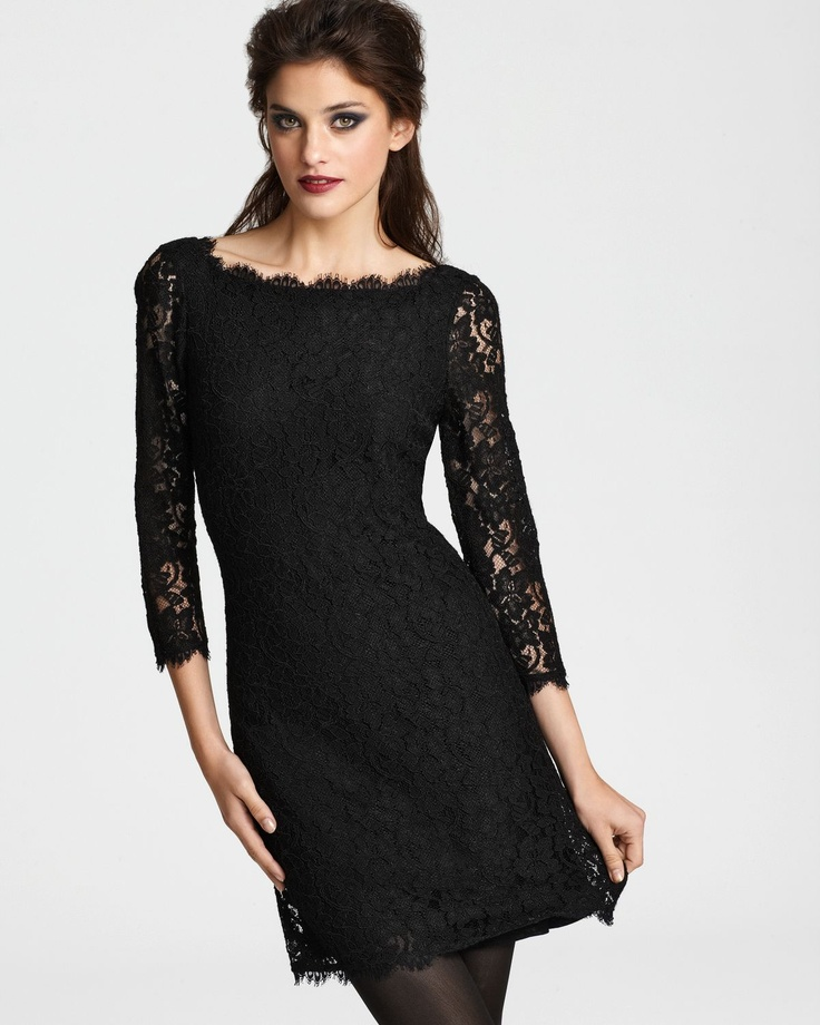 ON TREND - Black & Lace  This will be a go to piece in your wardrobe for day or night.