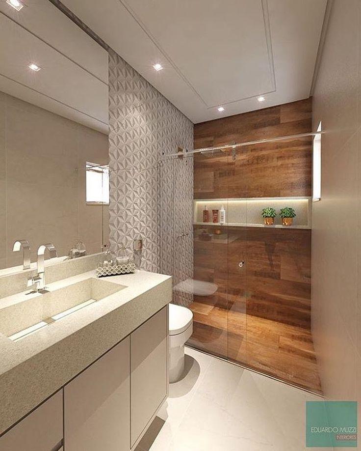 25+ melhores ideias de Armários de casa de banho no Pinterest -> Armario De Banheiro Amadeirado