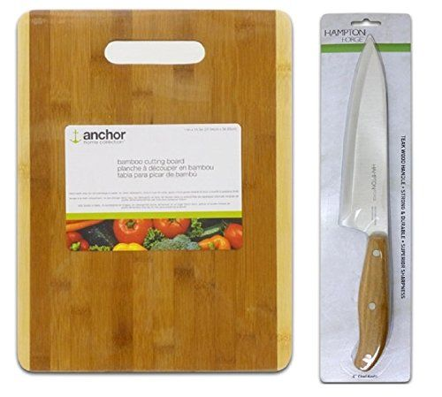 1000 images about kitchen tools on pinterest bamboo for Kitchen knife set of 7pcs with cutting board