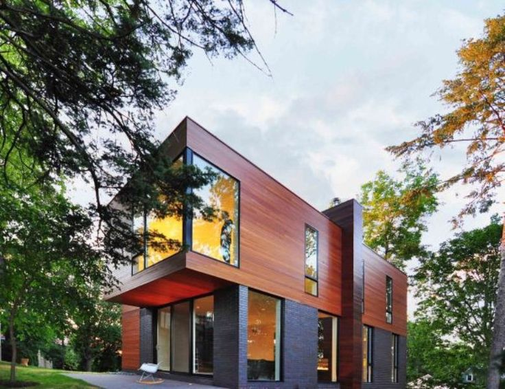 Nexus house in madison wisconsin by johnsen schmaling architects · modern house designmodern housescontemporary