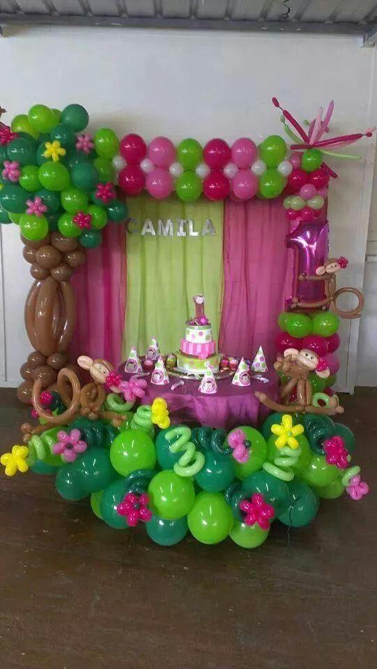 1704 best Decoración con globos images on Pinterest   Balloon ...