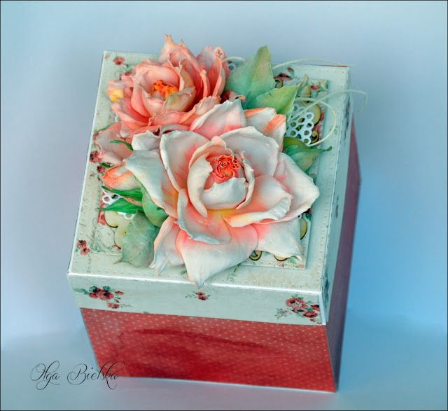 Blog Craft Passion: Exploding box + video tutorial