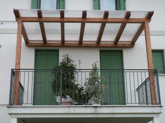 Beautiful Copertura Terrazzo In Policarbonato Pictures - Design and ...