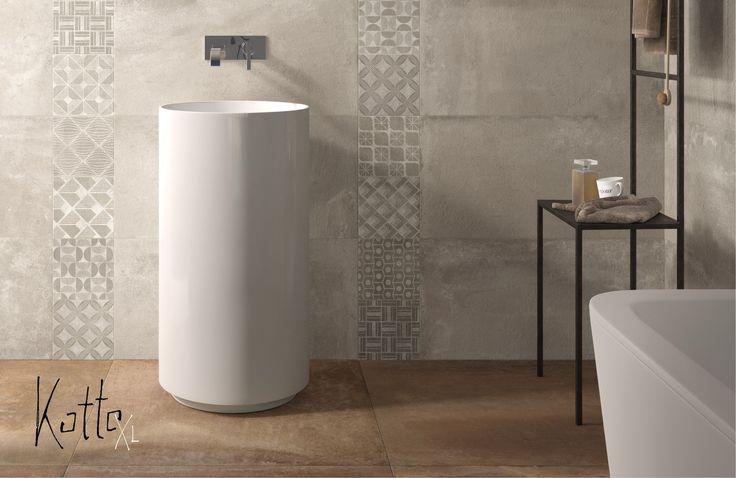 Oltre 1000 idee su piastrelle del pavimento del bagno su - Incollare piastrelle su pavimento esistente ...