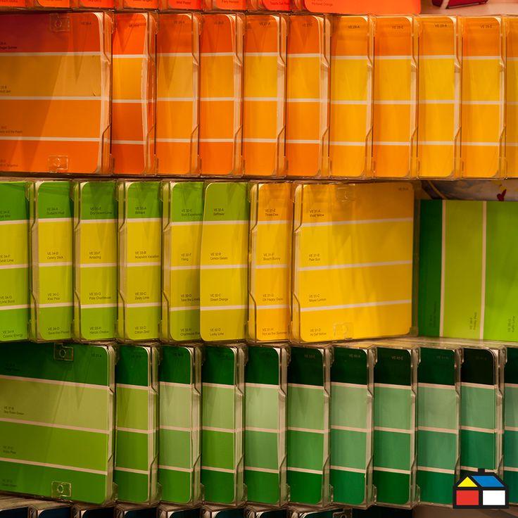 #Pintura #Colores #Naranjo #Verde