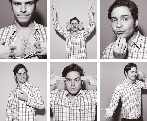 """""""We Germans should know that we're good at constructing cars and we have a lot of good qualities. But we're not the funniest. The Spanish are also not that funny in general."""" — Daniel Brühl [+]"""