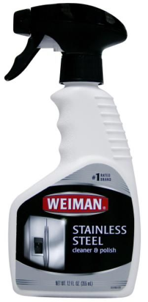 Favorite cleaners for stainless steel appliances and more: Weiman Stainless Steel Cleaner