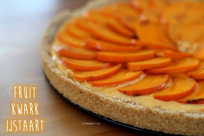 Recept: Fruit Kwark IJs Taart (suikervrij)
