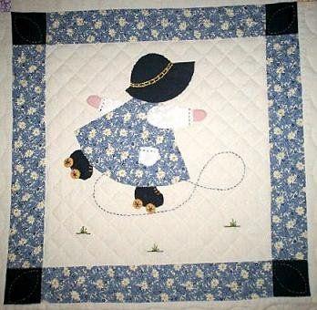 Free Sunbonnet Sue Quilt Pattern | Sunbonnet Sue