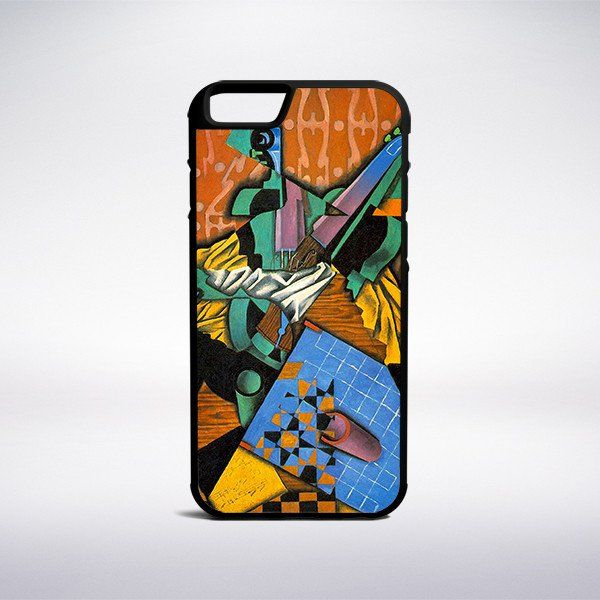 Juan Gris - Photograph Of Violin And Checkerboard Phone Case – Muse Phone Cases