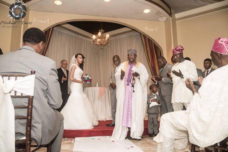 Yusuf and Sieara, Celebrating wedding with Imam Mustapha, 08/06/13