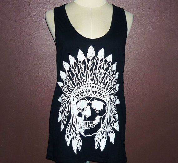 Metal girls mohawks skull punk t-shirt punk metal by StoneTshirts Metal girls mohawks skull punk t-shirt punk metal horror tank tops rock chic t-shirt native tank tops Misfits Fiend Skull Punk Rock T-Shirt $12.99 USD
