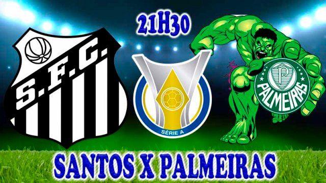 Assistir Santos X Palmeiras Duelo Pela Vice Lideranca Marcam O
