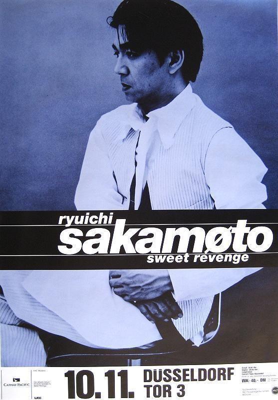 sakamoto concert poster