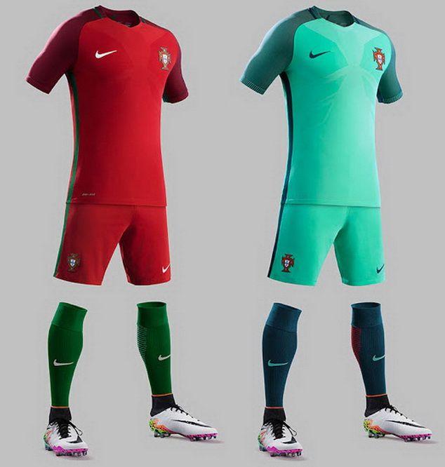 Ceci est le nouveau Maillots de football Euro 2016 de Équipe du Portugal de football.