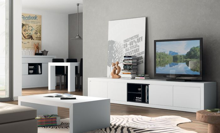 Kibuc muebles y complementos comedor aiko salones for Cuadros diseno para salon