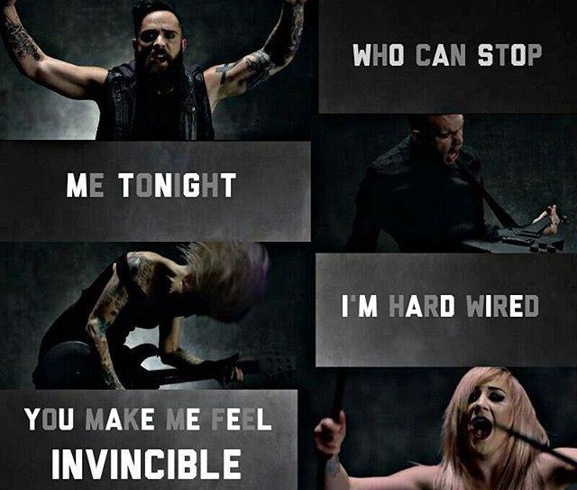 Feel Invincible//Skillet