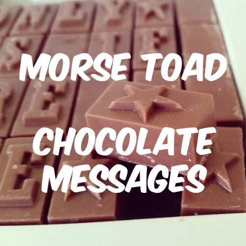 Review and Competition: Morse Toad Chocolate Message