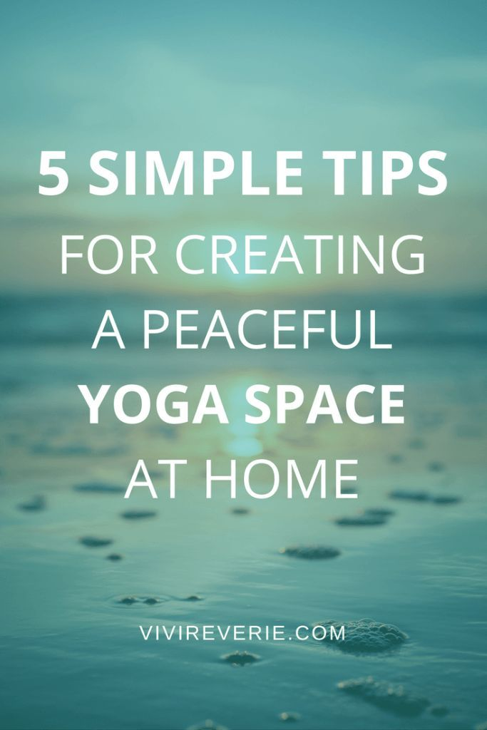 5 simple tips for creating a peaceful yoga space for ultimate relaxation! In this post I share how to create a peaceful yoga space at home + other home yoga practice tips! Get your self-loving self-care on, start yoga at home, and find some extra peace and relaxation in your own yoga space at home. Creating a yoga space at home can be simple, affordable, and hep you get more out of your home yoga practice! Read this post to learn more. Small yoga space ideas, yoga space decor ideas, yoga…