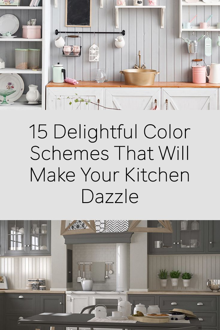 Kitchen make your kitchen dazzle with pertaining to kitchen design - 15 Kitchen Color Schemes To Delight Your Inner Gourmet