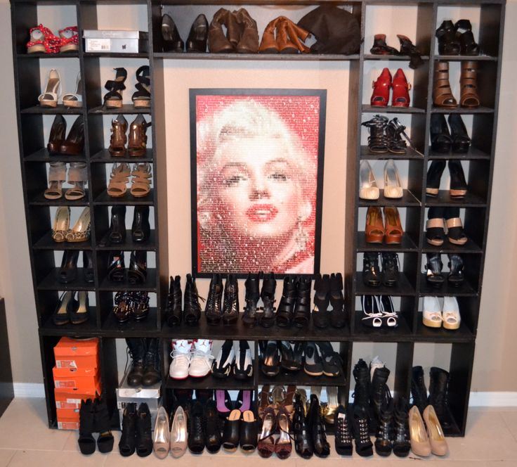 42 best shoe racks images on pinterest for the home shoe racks do it yourself diy shoe shelf a fashionably organized shelving house to store all your shoes solutioingenieria Images