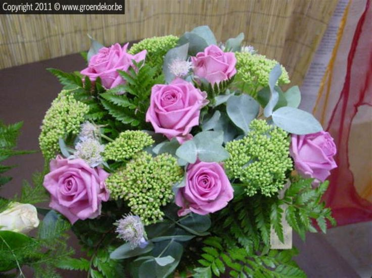Lila Boeket - Herfst   Bouquet Lila - Automne