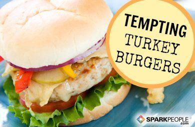7 Healthy Turkey Burger Recipes | Use ground turkey breast to keep it super healthy