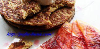 Pancakes: suc de portocale psyllium si ovaz