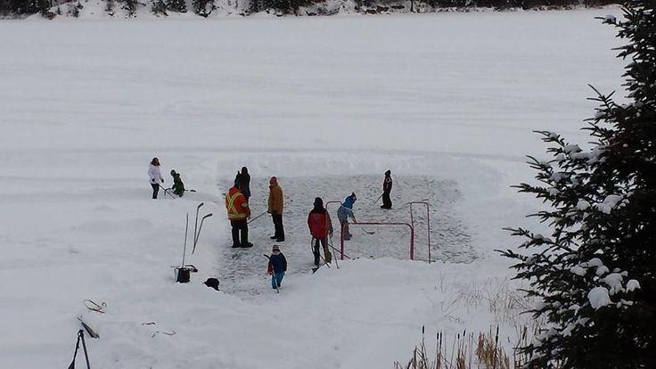 Shist Lake, Manitoba - Jan 1/2015