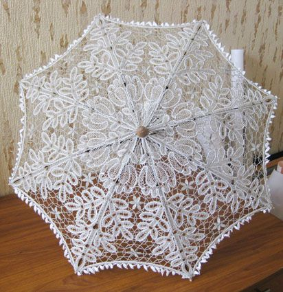 Зонтик «Цветочный луг», 2010, лён
