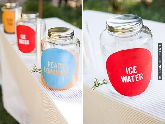 drink ideas for your wedding | CHECK OUT MORE IDEAS AT WEDDINGPINS.NET | #weddingfood #weddingdrinks