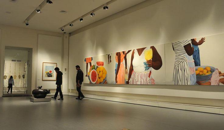Exhibición de la artista colombiana Ana Mercedes Hoyos en México
