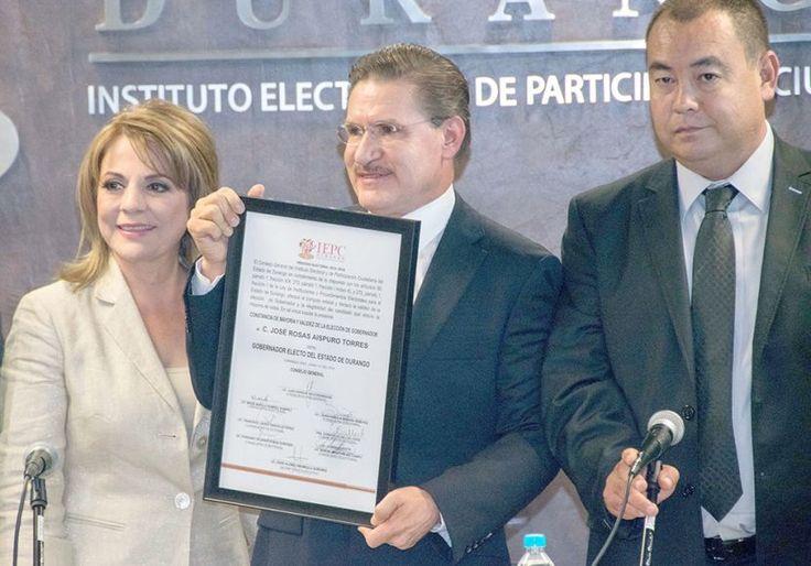 AISPURO TORRES, GOBERNADOR ELECTO