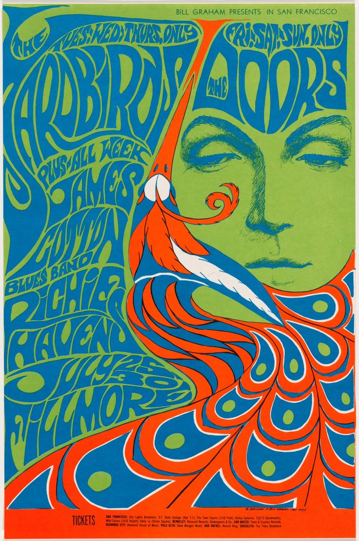 70s poster design - Find This Pin And More On Psychedelia 60s 70s Acid Rock Lsd Fluorescent Posters By Wiretapstudios