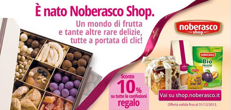 Albenga, Milano, Torino e adesso anche on line: Noberasco non è mai stata così vicina ai suoi clienti!