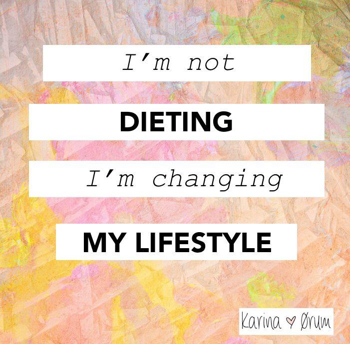 Blog om vægttab og om at nå målet
