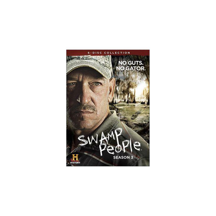 Swamp people:Season 3 (Dvd)