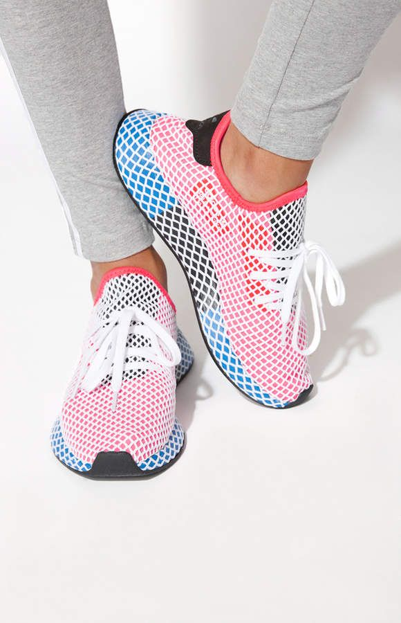 74645ea82 adidas Women s Red Deerupt Runner Sneakers