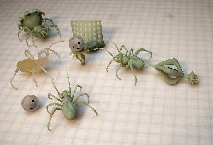 3d printed spiders taylor absher