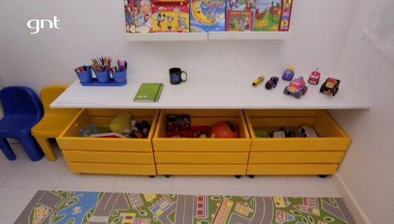 Itens da MMM organizam quarto infantil no Santa Ajuda do GNT