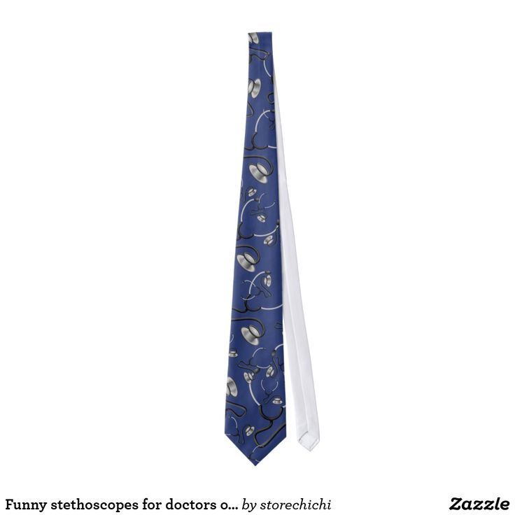 Funny stethoscopes for doctors on navy blue