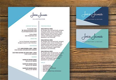 Create a Branded Resumé, Letterhead and Business Card in Adobe InDesign