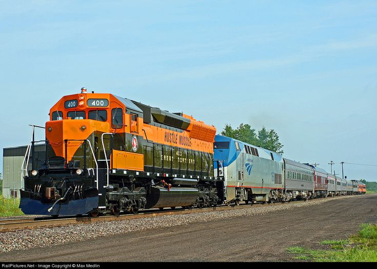 Photo GN 400 Great Northern EMD SD45 at