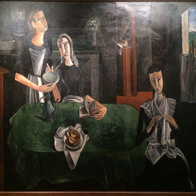 """Андре Дерен, """"суббота"""", 1912 г. Моя любимая#дерен#андредерен#art#искусство#derain#andrederain#saturday"""