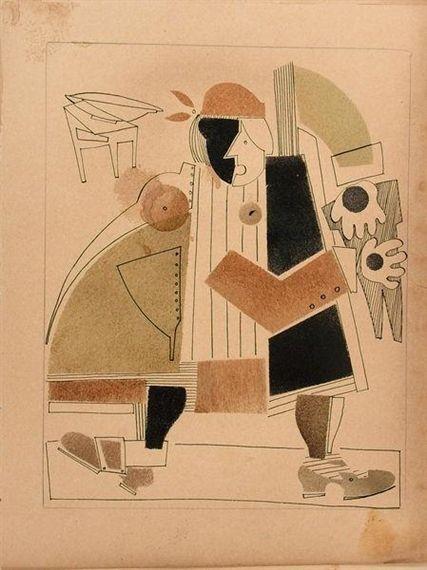 Vladimir Vasilyevich Lebedev - Ohne Titel, 1920,...