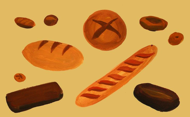 Любимые рецепты Лали Чочия: домашний хлеб без дрожжей — Seasons Life!